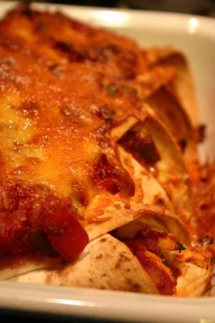 Enchiladas maison
