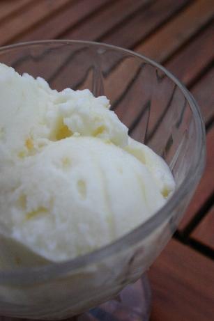 Glace citron - lait ribot