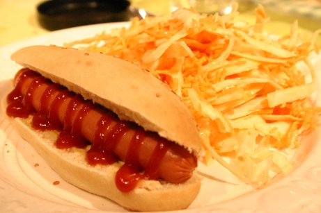 Hot dogs maison