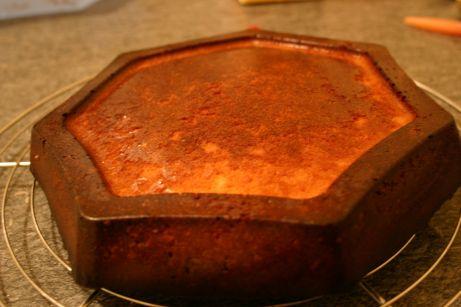 damp lemon and almond cake