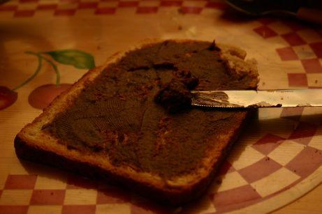 Pâte à  tartiner aux noisettes