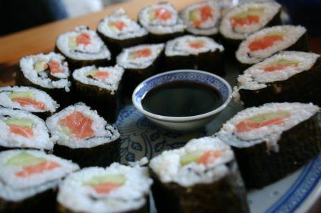 Maki sushis