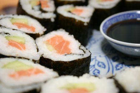 Maki-sushis (détail)