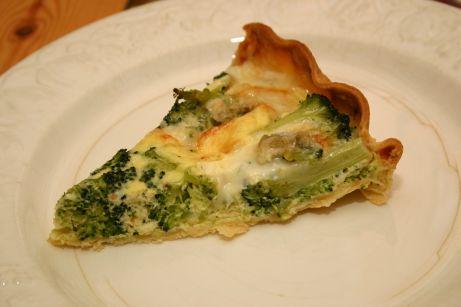Tarte brocolis-gorgonzola